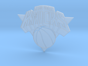 KNICKS EMBLEM in Smooth Fine Detail Plastic