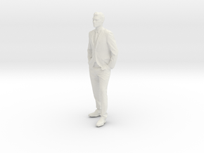 Printle C Homme 005 - 1/35 - wob in White Strong & Flexible