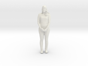 Printle C Femme 015 - 1/35 - wob in White Strong & Flexible