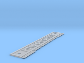 HMS Duchess Name Plates 1/96 scale. in Smooth Fine Detail Plastic