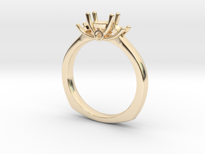 Ring For women in 14K Yellow Gold: Small