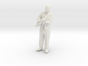 Printle Homme 003 - 1/32 - wob in White Strong & Flexible