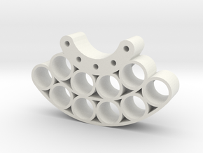 OD80-Tungsten PINEWOOD Support -V2-OD80 in White Natural Versatile Plastic