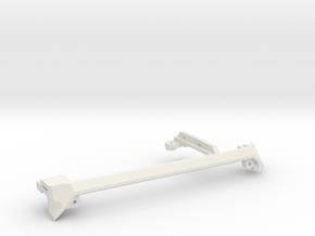 LZ7 Rear PCIe Corner V2 in White Strong & Flexible