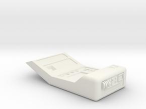 Tricorder, Open (Star Trek Next Generation), 1/6 in White Natural Versatile Plastic