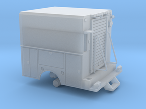 Utility Truck Work Bed 1-87 HO Scale RPS Truck in Frosted Ultra Detail
