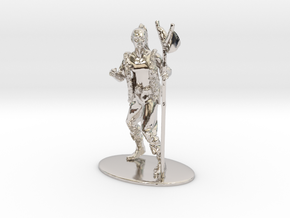 Kender Miniature in Rhodium Plated Brass: 1:60.96