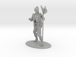 Kender Miniature in Raw Aluminum: 1:60.96