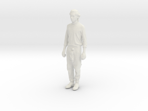 Printle C Homme 007 - 1/72 - wob in White Strong & Flexible