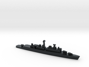 County Class Destroyer, 1/3000 in Black Hi-Def Acrylate