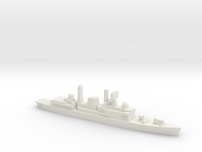 Type 42 DDG (Falklands War), 1/3000 in White Natural Versatile Plastic