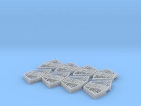 1/2256 Revell Venator Turret Bays in Smooth Fine Detail Plastic