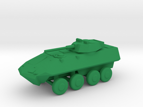 1/144 Scale LAV25 in Green Strong & Flexible Polished