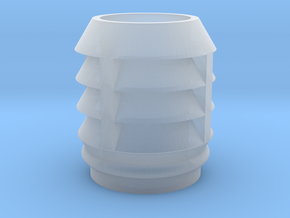 EP718 O Gauge Chimney Pot in Smooth Fine Detail Plastic