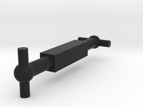 H0 - OLD RIVAROSSI HEISLER 2 TRUCK SHORT DRIVE SHA in Black Natural Versatile Plastic