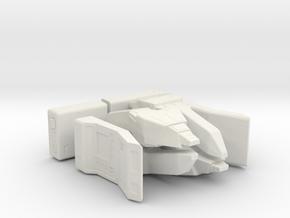 Away Team (Star Trek Next Generation), 1/6 in White Natural Versatile Plastic