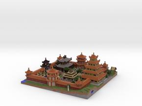 Gated Village in Full Color Sandstone
