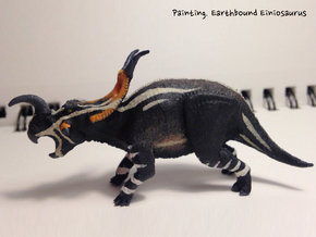 Einiosaurus(Small/Medium/Large size) in White Strong & Flexible: Small