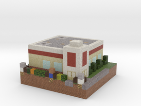 PinterJ's Chicken Shack in Full Color Sandstone