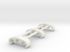 Cablex3open in White Natural Versatile Plastic