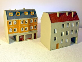 Stadthaus 3 - 1:220 (Z scale) in White Natural Versatile Plastic