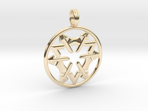 COSMIC FORTRESS in 14K Yellow Gold