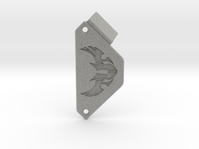Custom nameplate - TUF  in Metallic Plastic