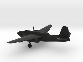 Douglas A-20 airplane in Black Strong & Flexible: 1:160 - N