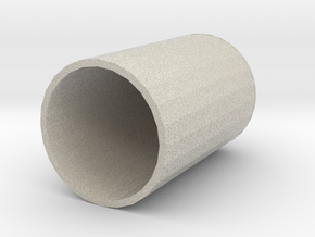 Wearable (on finger) Noodly Appendage Of The FSM in Natural Sandstone: Medium