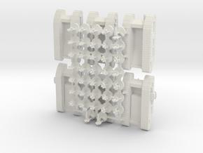 MechInf Stormtrooper Platoon in White Natural Versatile Plastic