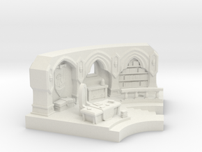 Mage Tower in White Natural Versatile Plastic