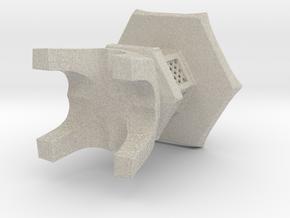 3D Japanese Stone Lantem in Sandstone