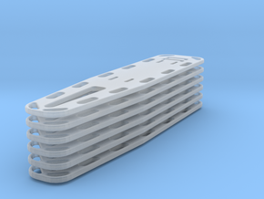 1-48 Spineboards 6 in Smooth Fine Detail Plastic