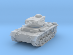 PV163B Pzkw IIIJ Medium Tank (1/100) in Smooth Fine Detail Plastic