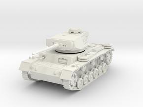 PV164 Pzkw IIIL Medium Tank (1/48) in White Natural Versatile Plastic