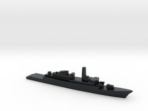 Type 21 frigate w/ Exocet AShM, 1/3000 in Black Hi-Def Acrylate