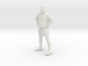 Printle C Homme 143 - 1/64 - wob in White Natural Versatile Plastic