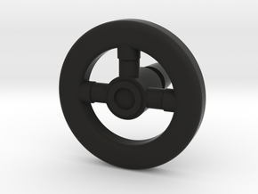 MASK Goliath Racecar Steering Wheel in Black Natural Versatile Plastic