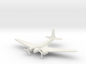 Douglas B-23 Dragon (In Flight) 1/144 in White Natural Versatile Plastic