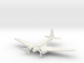 Douglas B-23 Dragon (In Flight) 1/144 in White Natural Versatile Plastic