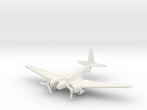 Douglas B-23 Dragon (Landing Gear) 1/144 in White Natural Versatile Plastic