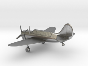 Curtiss SB2C Helldiver airplane in Natural Silver: 1:144