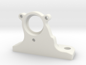 Half-inch Ex Filter Holder in White Natural Versatile Plastic