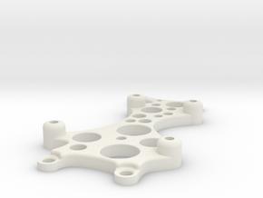 ArduinoUnoLaserBlockMount in White Strong & Flexible