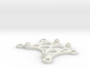 ArduinoTableMount in White Natural Versatile Plastic