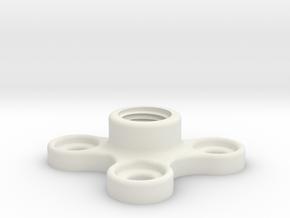 CoolantTubeTableMount in White Natural Versatile Plastic