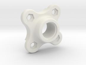CoolantTubeMagnetMount in White Natural Versatile Plastic