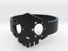 Boop Ring in Black Hi-Def Acrylate: 5 / 49