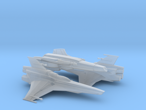 Vipers, Mk VII x2, Mk II x1 (BSG), 1/200 in Smooth Fine Detail Plastic