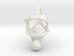Printle Thing Gasmask - 1/24 in White Natural Versatile Plastic